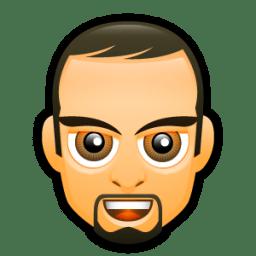 Male Face F5 icon