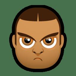 Male Face J5 icon