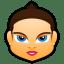 Female-Face-FB-2 icon