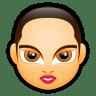 Female-Face-FA-5 icon