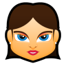 Female-Face-FB-5 icon