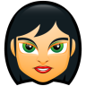 Female-Face-FC-5 icon
