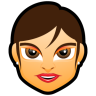 Female-Face-FG-4-brunette icon