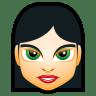 Female-Face-FI-4 icon