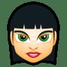 Female-Face-FI-5 icon