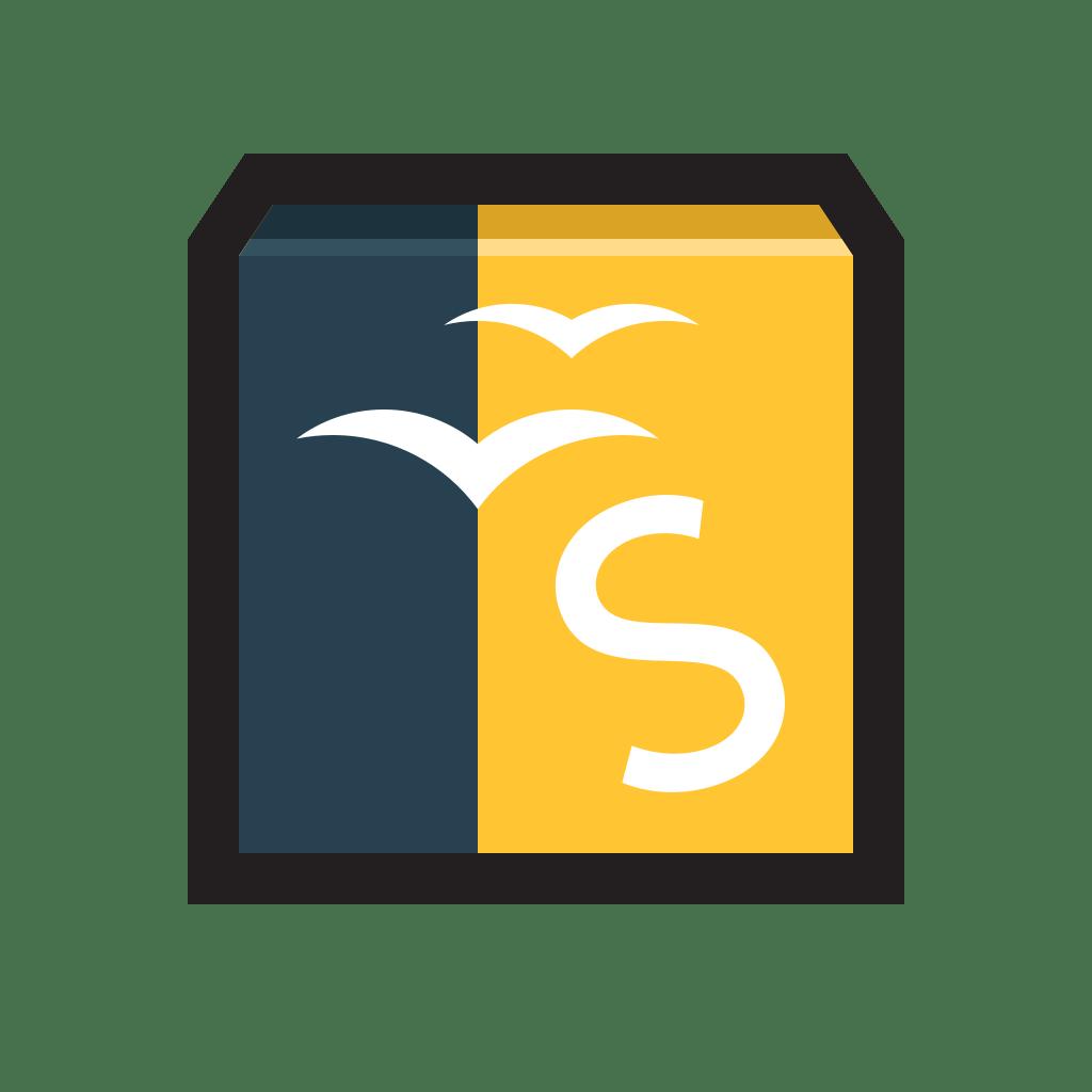 Openoffice Draw Icon Flat Strokes App Iconset Hopstarter
