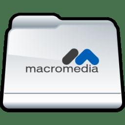 Macromedia icon