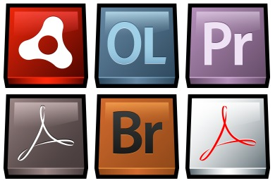 Gloss Adobe Icons
