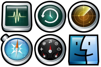 Gloss Mac Icons