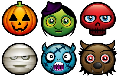 Halloween Avatars (Updated) Icons