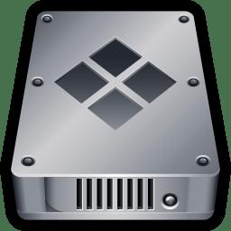 Device Hard Drive Bootcamp icon