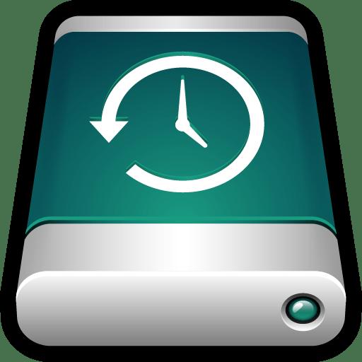 Device External Drive Time Machine icon