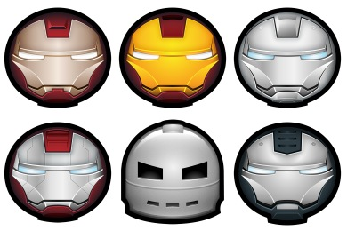 Iron Man Avatar Icons