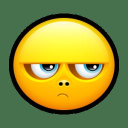 Smiley Upset Icon Keriyo Emoticons Iconset Hopstarter