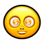 Smiley dollar icon