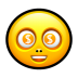 Smiley-dollar icon