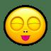 Smiley-stick-tongue icon