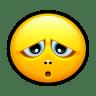 Smiley-unfortunate icon