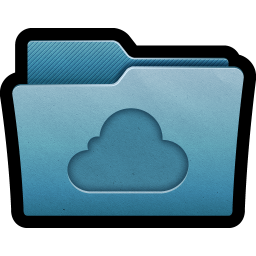 Folder Cloud icon
