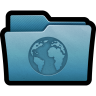 Folder-Websites icon