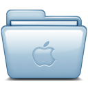 Blue Apple icon