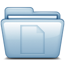 Blue-Documents icon