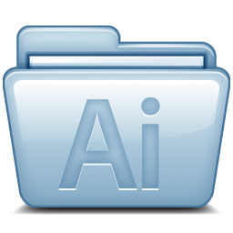 Blue Adobe Illustrator icon
