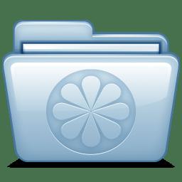 Blue Limewire icon