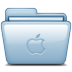 Blue-Apple icon