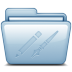 Blue-Applications icon