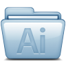 Blue-Adobe-Illustrator icon