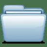 Blue-Blank icon
