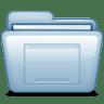 Blue-Desktop icon