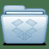 Blue-Dropbox icon