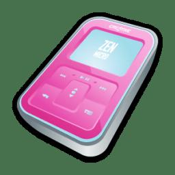 Creative Zen Micro Pink icon
