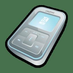 Creative Zen Micro Silver icon