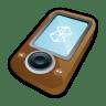 Microsoft-Zune-Brown icon
