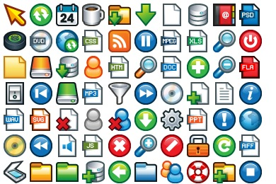 Plastic Mini Icons