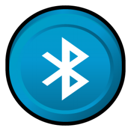 Bluetooth Icon | Puck Iconset | Hopstarter  Bluetooth Icon ...