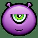 Alien malicious icon