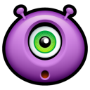 Alien surprised icon
