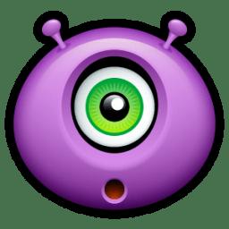 Alien surprised icon