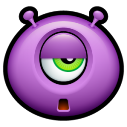 Alien tired icon