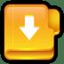 Folder-Download icon