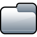 Folder Closed Silver icon