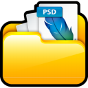 My Adobe Photoshop Files icon