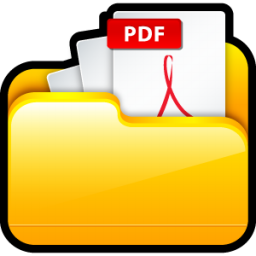 my adobe pdf files icon scrap iconset hopstarter