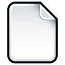 Document-Blank icon