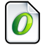 Font Open Type icon