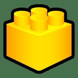 Lego Designer Icon | Sleek XP Software Iconset | Hopstarter: becuo.com/lego-brick-icon